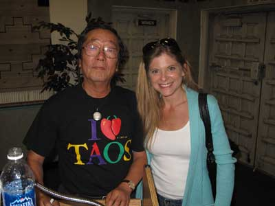 Dora McQuaid and Doctor Masaru Emoto