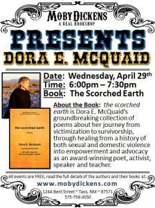 Dora McQuaid the scorched earth